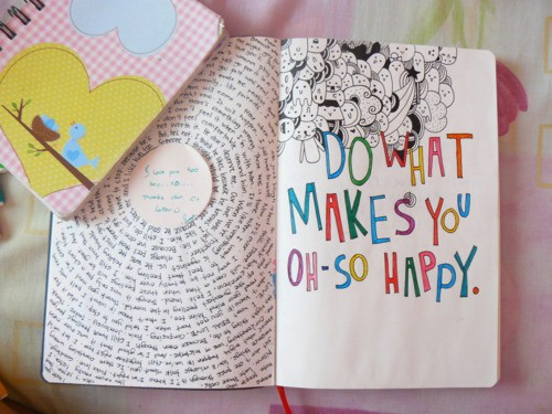 Do things make you happy