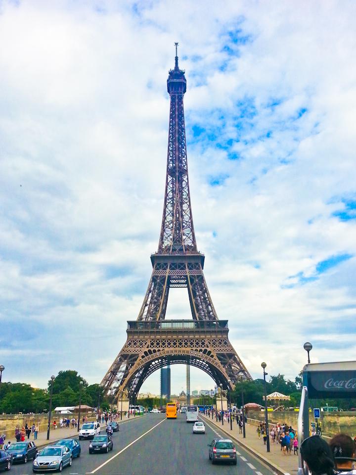 Eiffel Tower 2012 European trip
