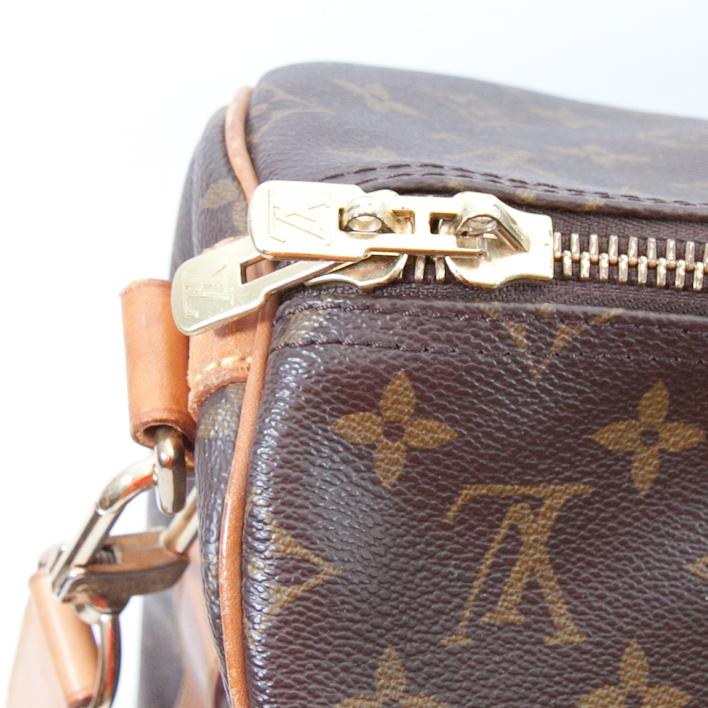 louis vuttion keepall bag zipper closure (1 of 1)