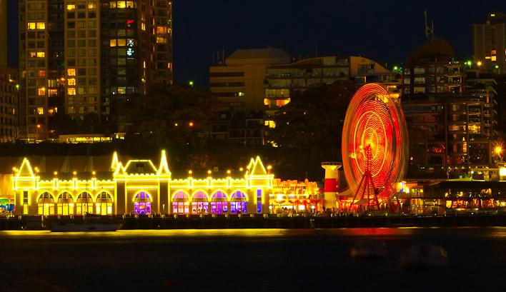 Sydney Harbor Photography at night