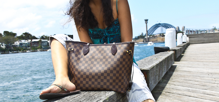 Louis Vuitton Neverfull mm Bags Size