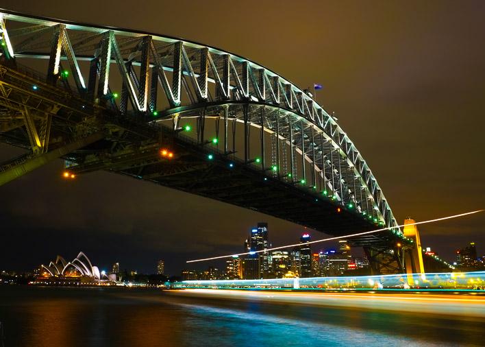 bridge and boat-Best Sydney Wedding Photography Locations