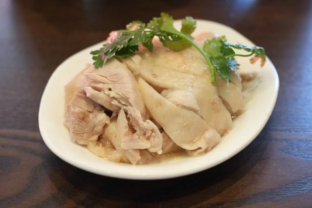 Drunken chicken - Chicken soaked in Chinese wine with herb & spice