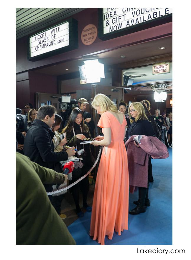 cate blanchett Blue Jasmine Australian Premiere