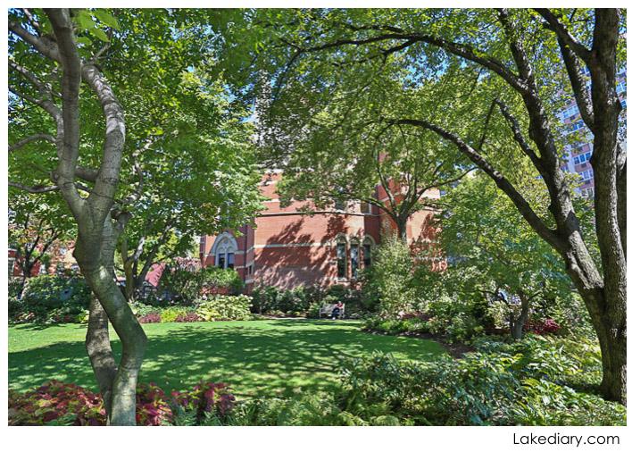 New York City Greenwich Village Jefferson Market garden