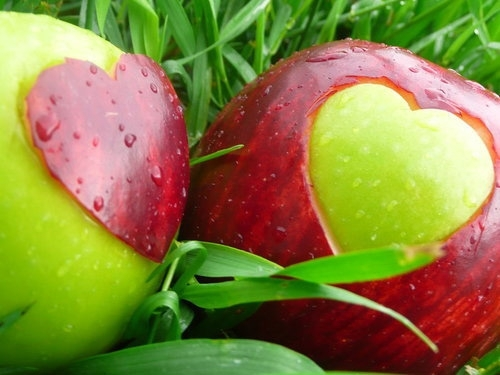 healthy snack idears -apple