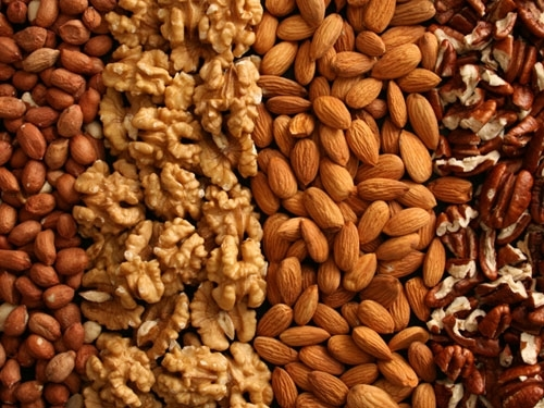 nuts - Healthy Snack Ideas