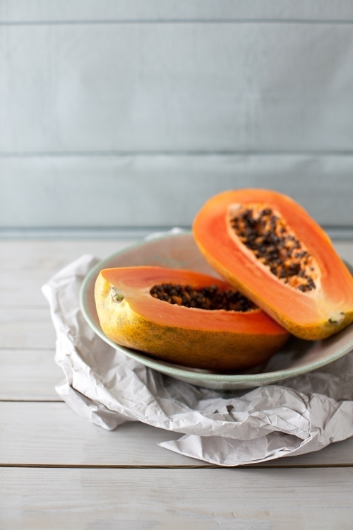 Healthy Snack Ideas papaya