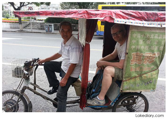 things to do in Beijing rickshaw ride