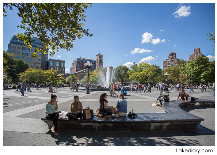 NYC Greenwich Village washington square park