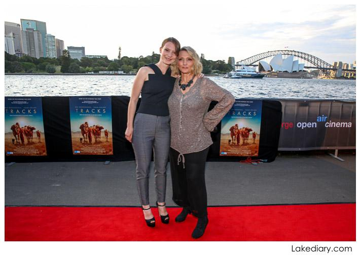Tracks actor Mia Wasikowska and author Robyn Davidson.