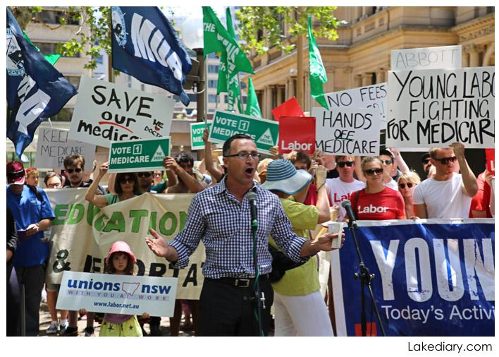 save our medicare rally speaker