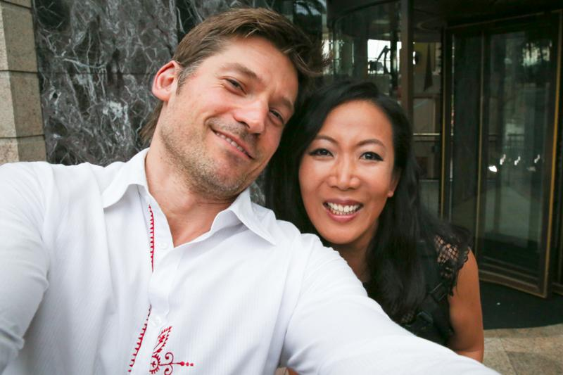 Nikolaj Coster-Waldau with Yvonne-01