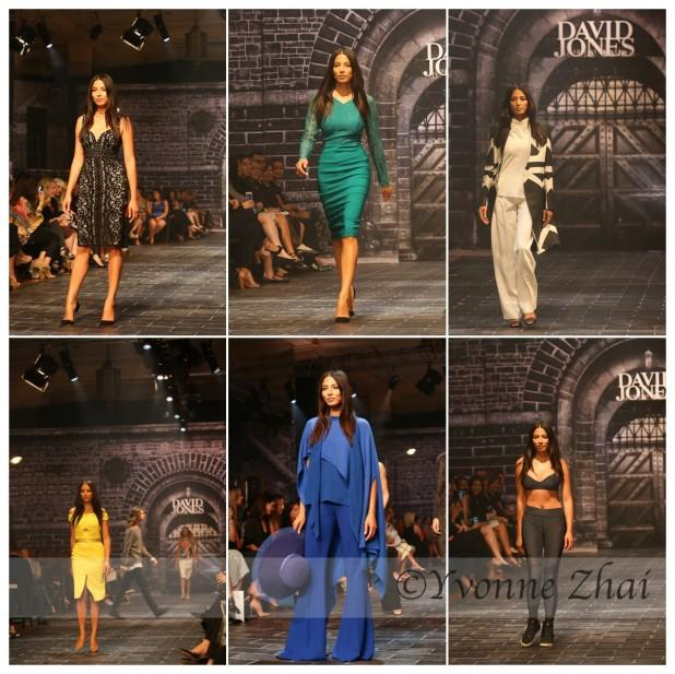 Jessica Gomes David Jones A/W 15 Fashion Show