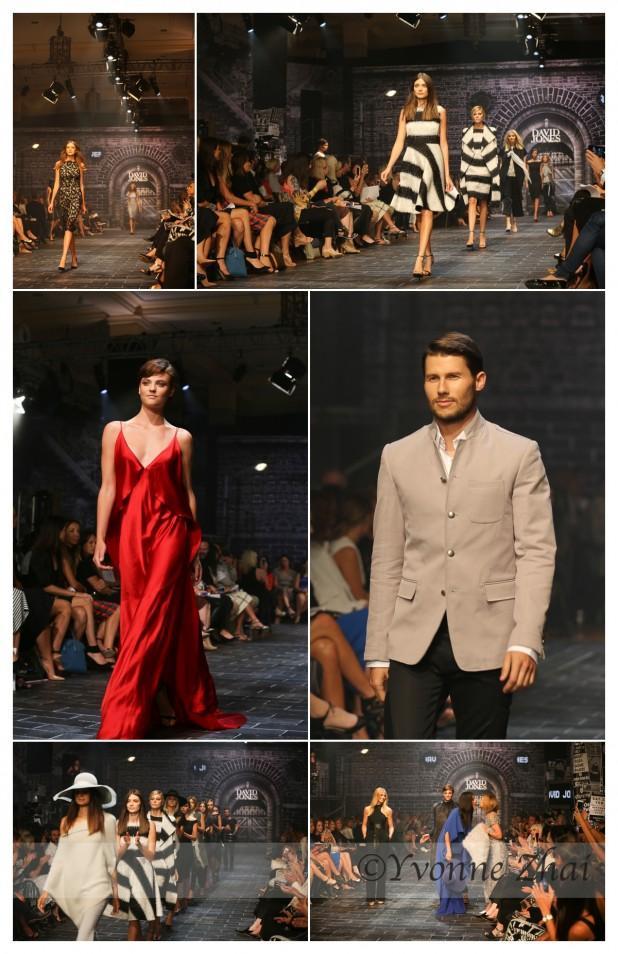 David Jones A/W 15 Fashion Show