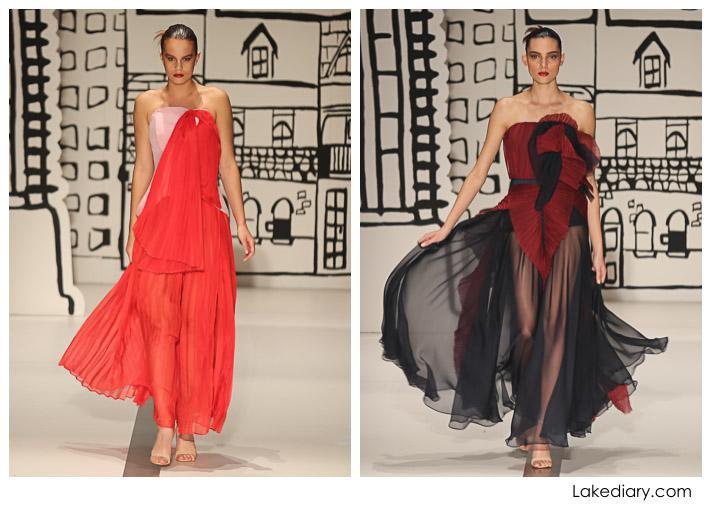 Sydney Mercedes-Benz Fashion Festival 2015-red carpet runway