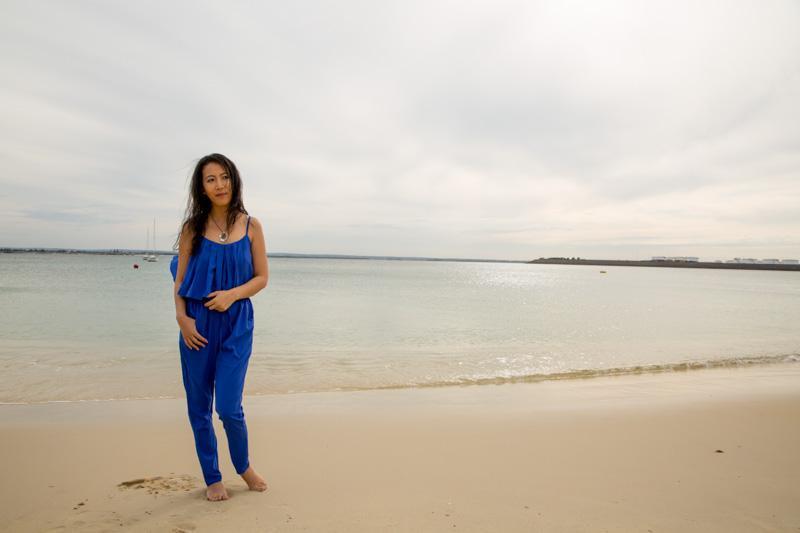 beach blue jumpsuit-2