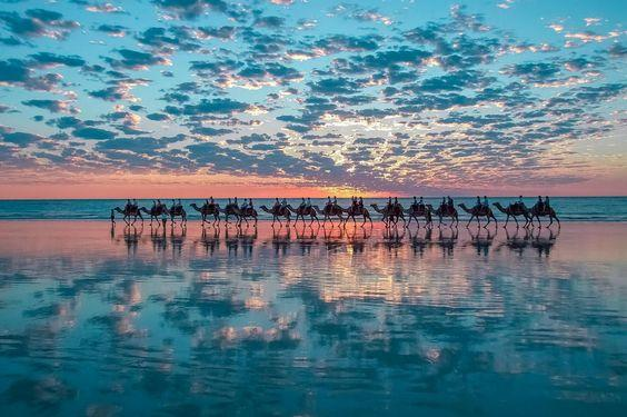 broome cable beach camel rides