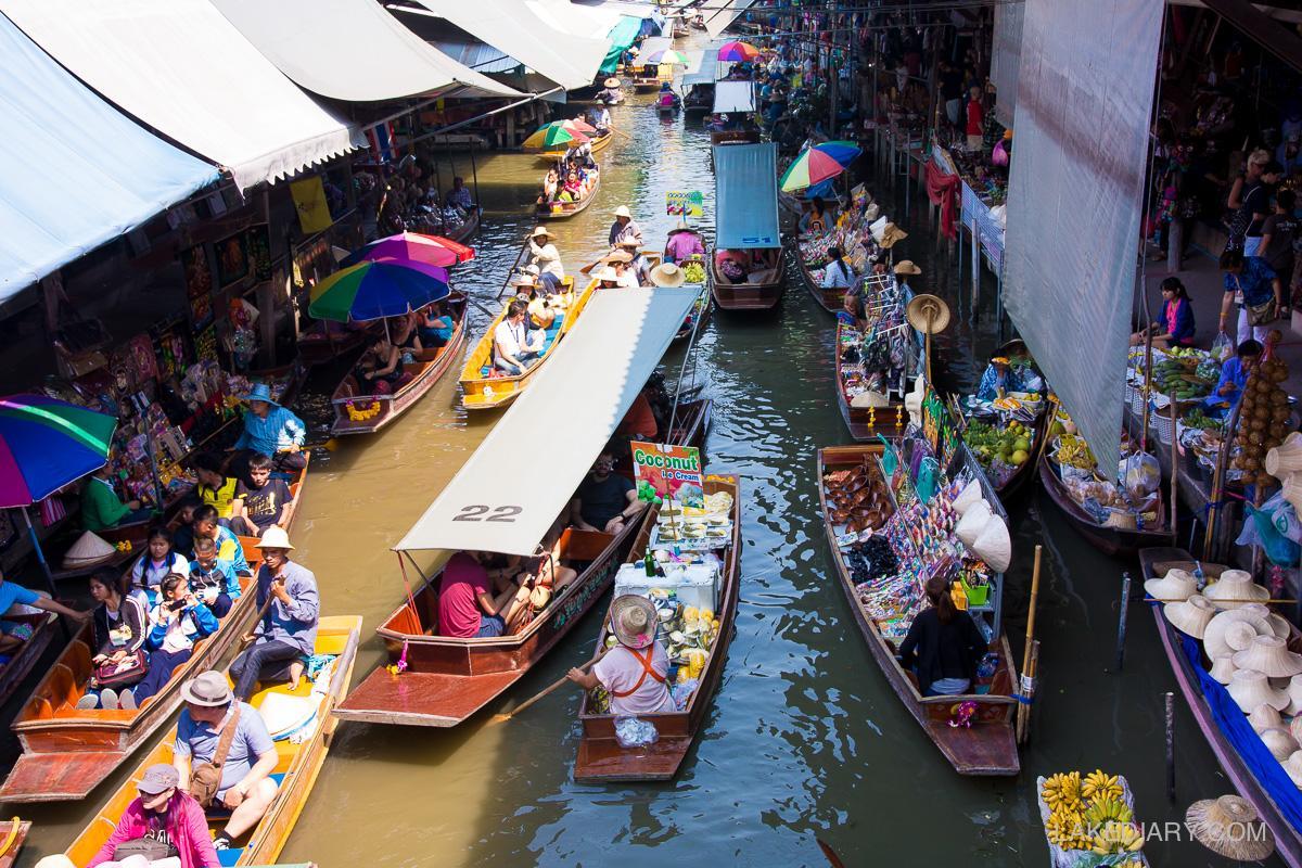 20 Facts of Damnoen Saduak Floating Market You Need to ...
