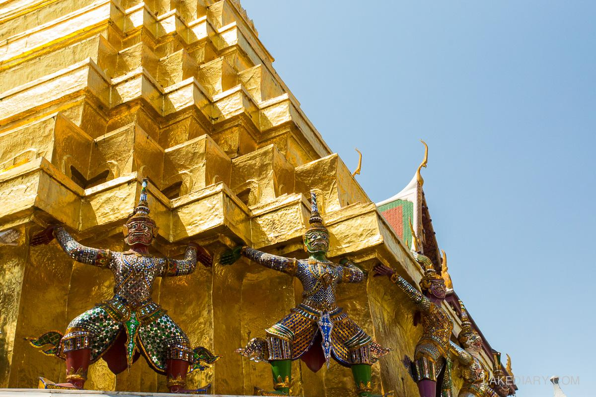 Grand Palace Thailand demons (1 of 1)