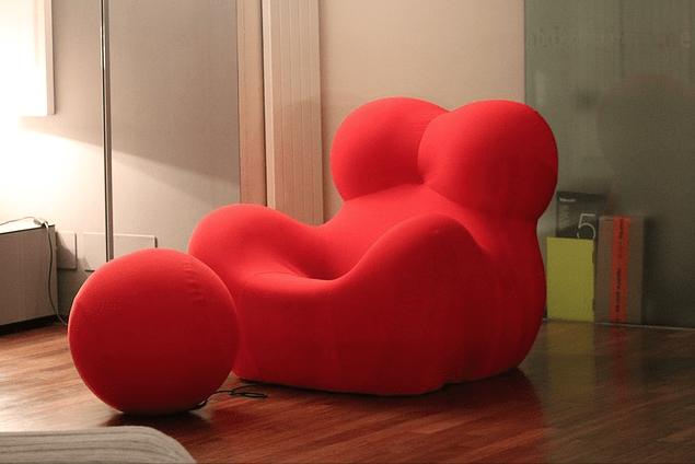 Furniture Design Trends - A Late 20th Century Rebellion styled Arm Chair