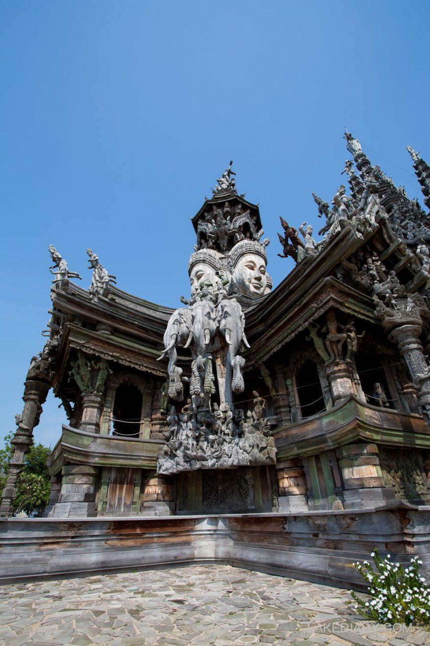 Sanctuary of Truth Pattaya Thailand-001-2