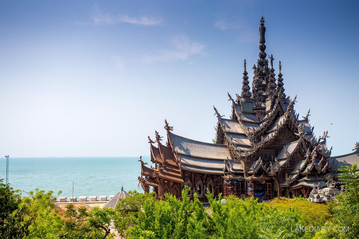 Sanctuary of Truth Pattaya Thailand-001