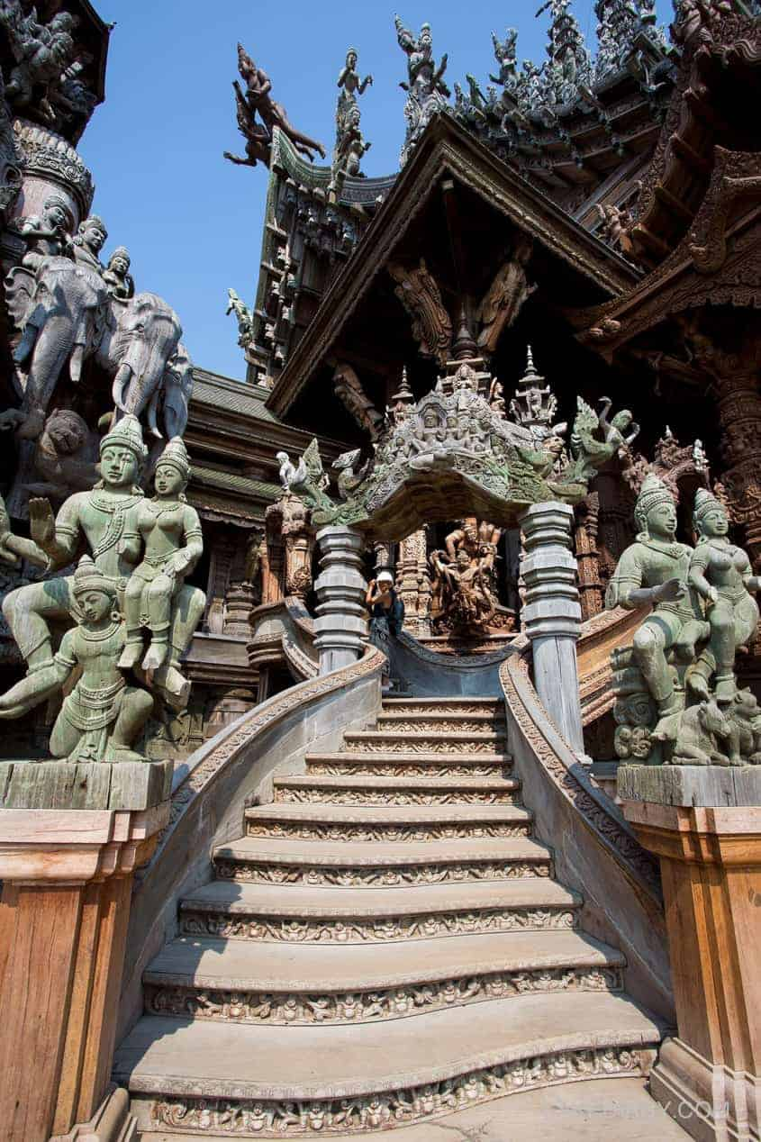 Sanctuary of Truth Pattaya Thailand-004