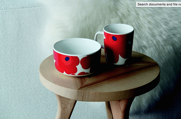 Furniture Design Trends - Scandinavian Design Table