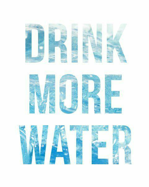 weekly motivation: drink more water