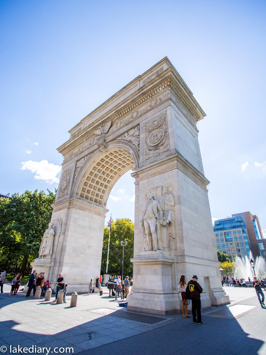 New York, the Washington Square Arch