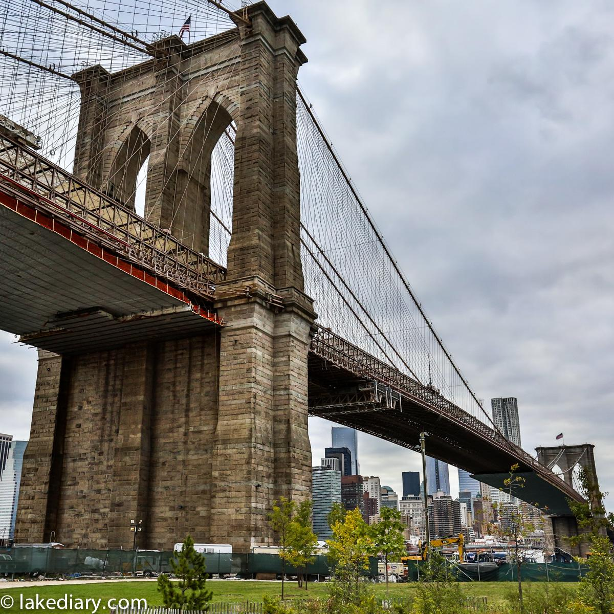 New York - the Brooklyn Bridge