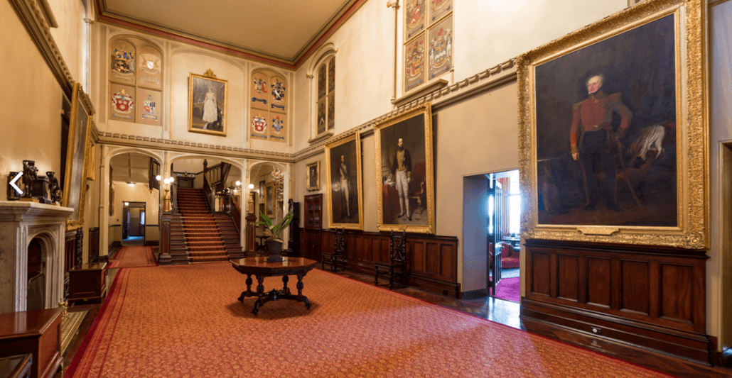 main hall - Government House Sydney