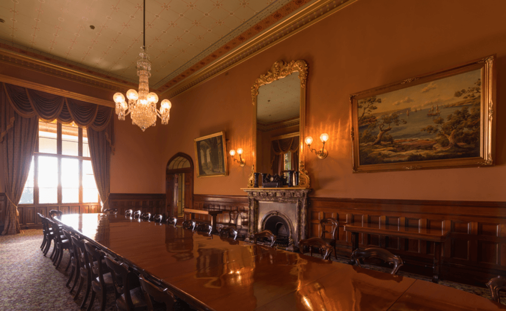 government house sydney dinning room