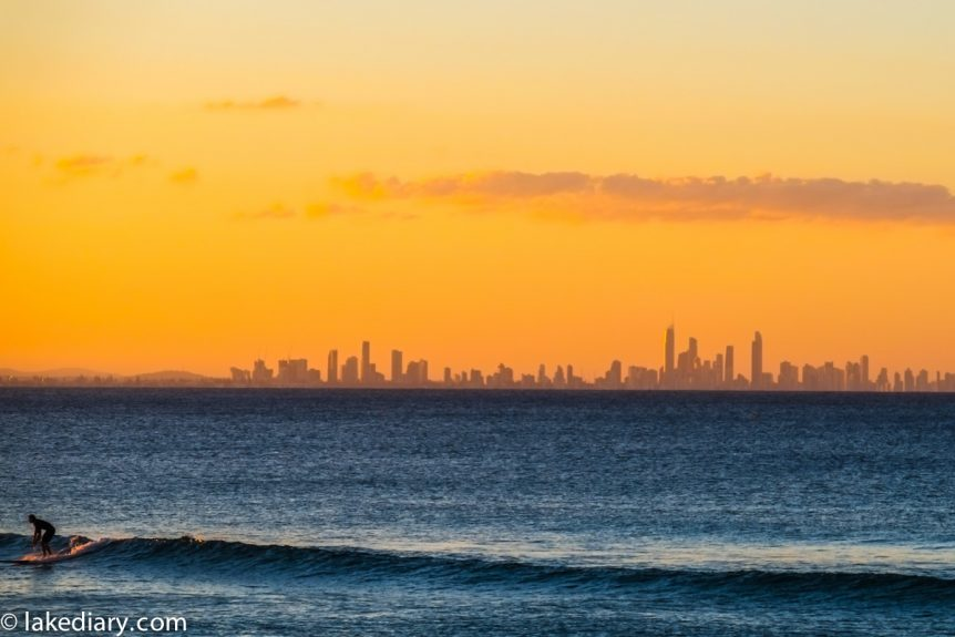 Coolangatta sunset