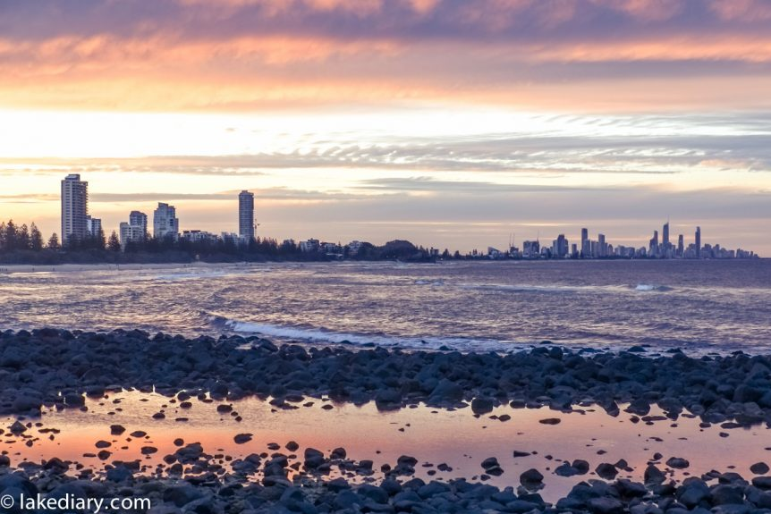 burleigh heads sunset-4