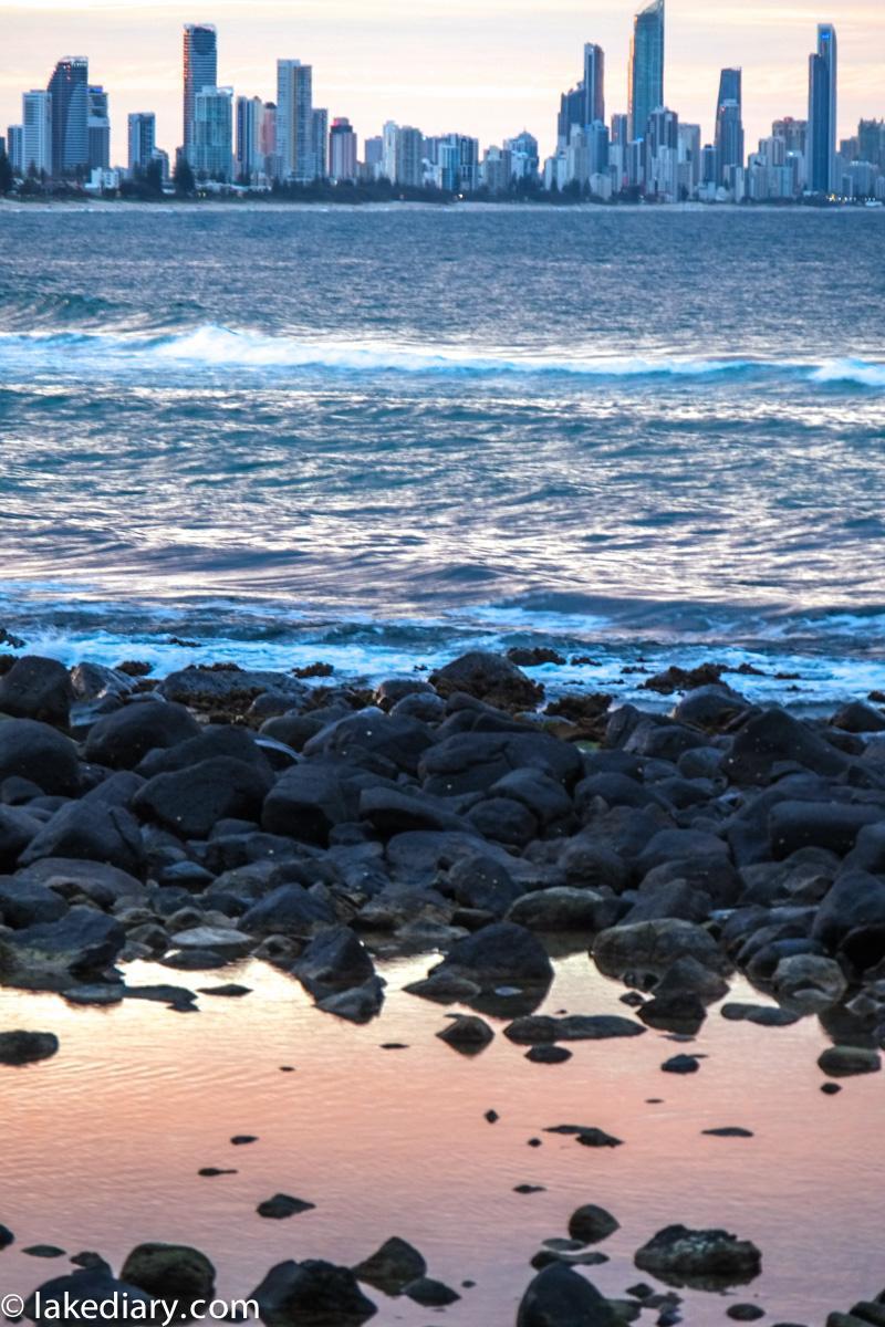 burleigh heads sunset-5