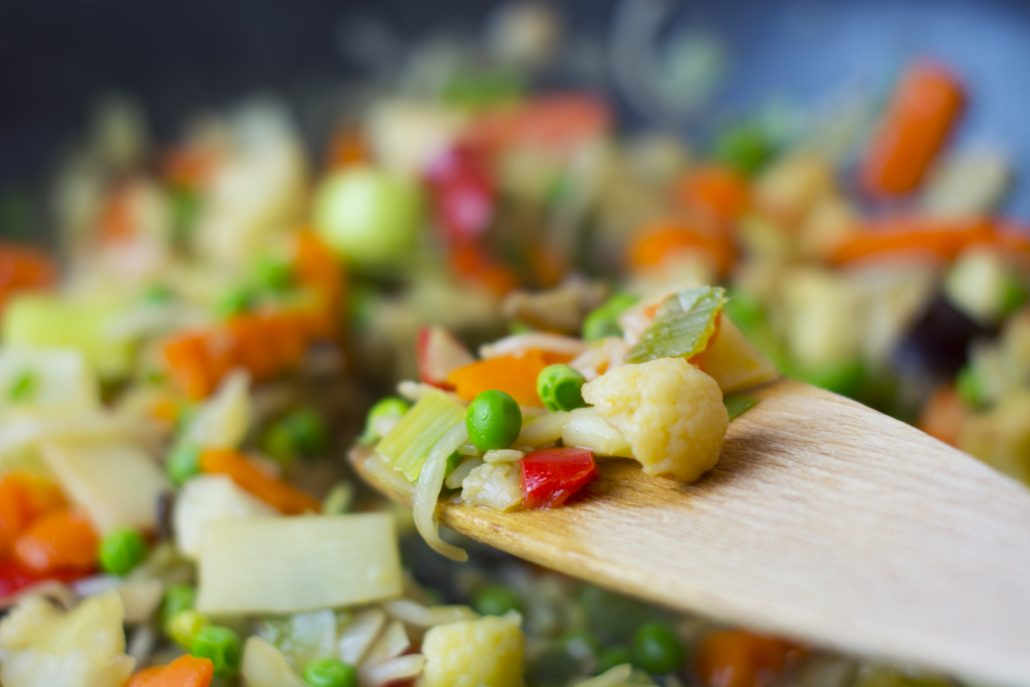 fryingpan-dinner-food-vegetables