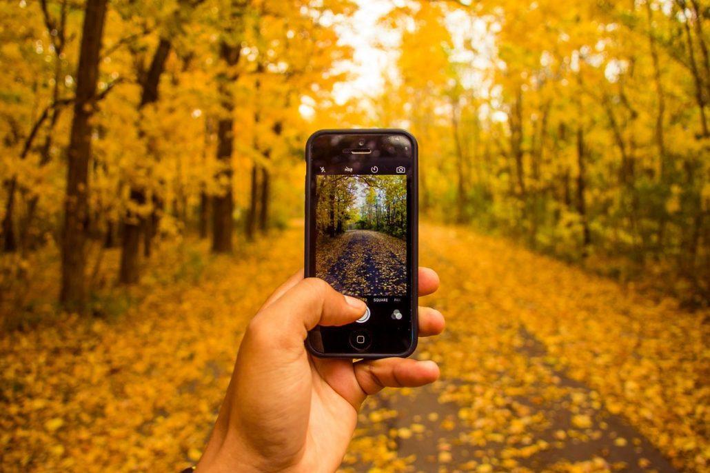 take photos mobile