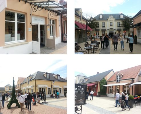Paris Designer Outlet shopping