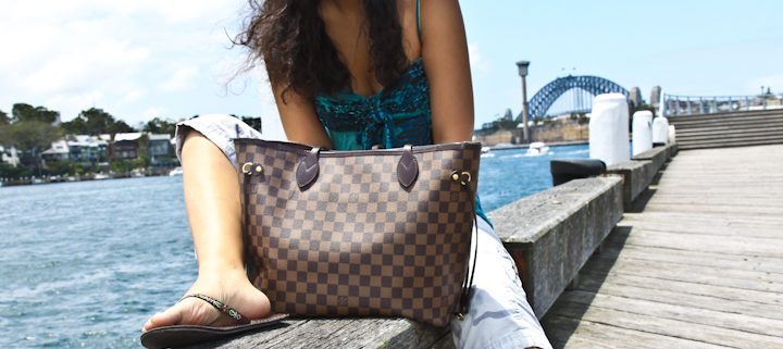 What Size Louis Vuitton Neverfull Bag Size Review Lake Diary