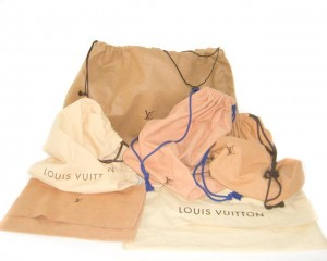 Louis Vuitton dust bags