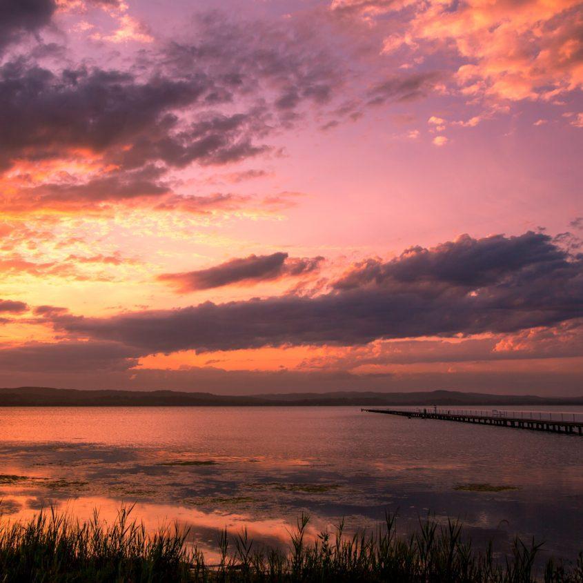 Long Jetty sunset