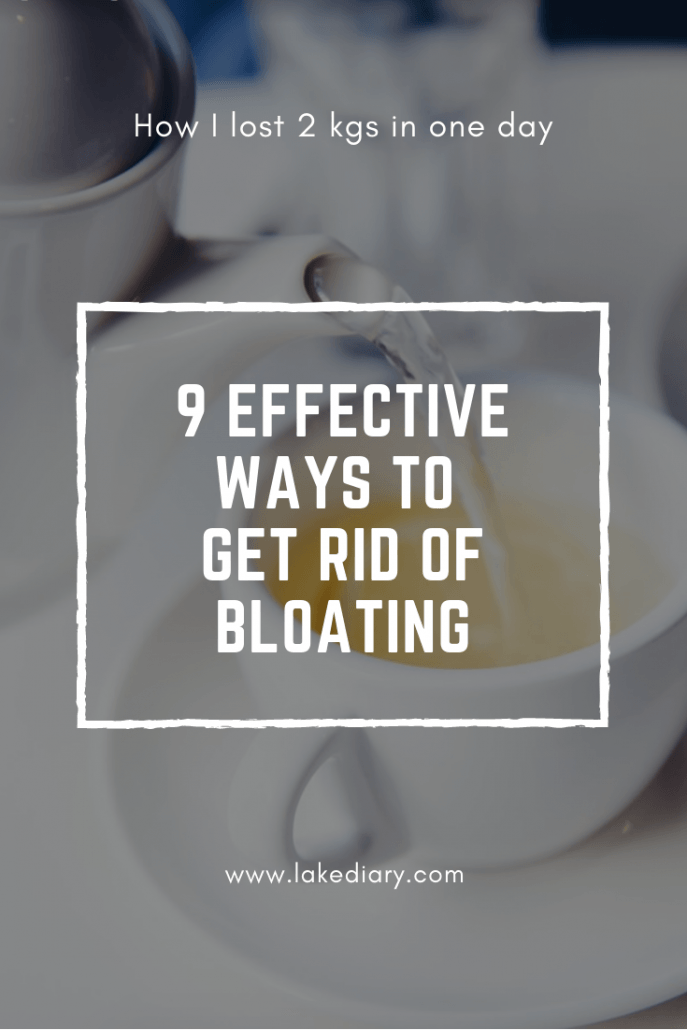 Get rid of bloating