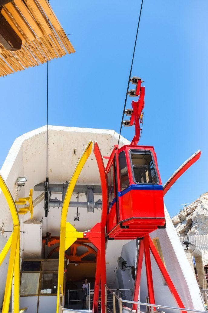 The steepest cable car in the world