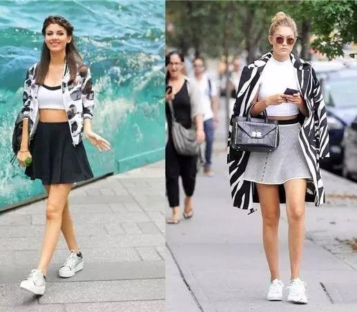 b21dbdbbc Style Tips: How To Wear Sneakers + Skirts/Dresses The Easy & Stylish ...